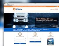 Criação portal web Agrostahl S.A.