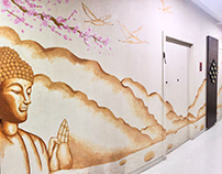 Tranquil - A Residential Wall Mural