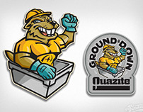 Hubbell Ground & Down Character and Logo