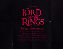 Posters Lord of the Rings trilogy