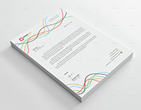 Colorful Letterhead Vol-03