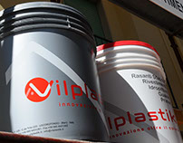 Restyling and packaging V, producer of wall paints.