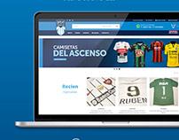 OUTLET DE CAMISETAS   DISEÑO WEB