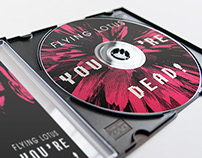Flying Lotus, You're Dead (album package re-design)