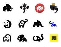 Elephant Logos Collection