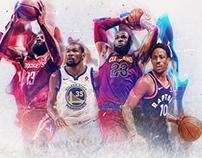 NBA.com Playoffs Art