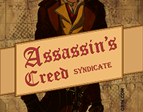 Assassin's Creed Syndicate Retro Art