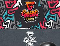 GRAFFITI PIZZA logo design