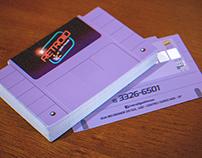 Business Card - Retroid Geek House