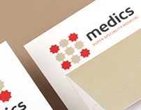 Medics Super Speciality Hospital - Branding