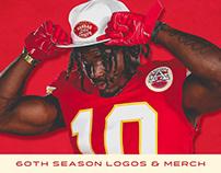 60th Season Logos & Merchandise