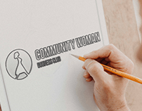 Логотип для COMMUNITY WOMAN