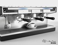 3D Model Coffee Machine Espresso