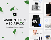 Fashion Social Media Pack