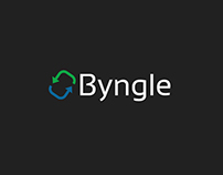 Byngle Logo Designs