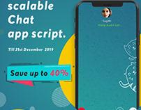 Chat app script business for 20% offer