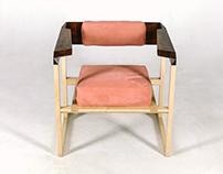 Кресло Pink Creamson от Fly Massive Millworks