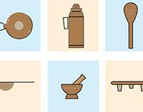 Kenyan kitchen icons