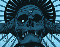 Mastodon - Boston gig poster
