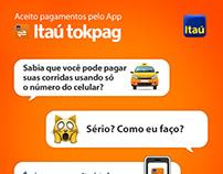 Divulgação Itaú tokpag