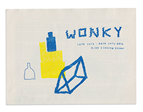 'Wonky' exhibition catalogue