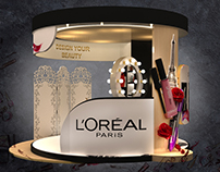 L'OR'EAL PARIS(Makeup & ELVIVE) Booth 2017 Egypt