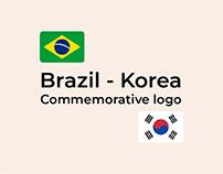Commemorative Logo Brazil-Korea 60th Anniversary