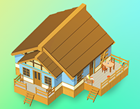 Idle House Flippers_Mobile Game