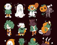 Halloween Cuties / personal project