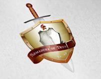 Criação do Logotipo da Loja Online Armadura de Deus