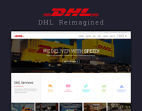 DHL Website Redesign
