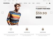 Domino– eCommerce Fashion Template