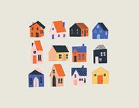 Mulberry Street Illustration