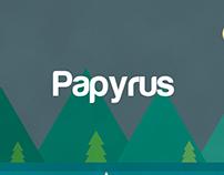 Papyrus Material Design