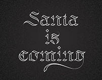 Santa Is Coming - Daily countdown until Christmas