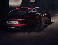 Porsche 918 Full CGI