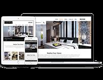 Linear ID - Fully responsive interior design website