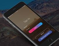 Steam  - iOS App Design