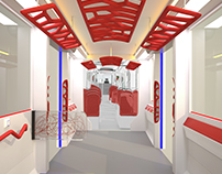 A NEW SPACE CONCEPT. Accessible tram interior