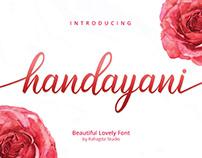 FREE | Handayani Lovely Script Font