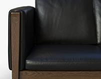 Sofa by Hans J Wegner - CH162