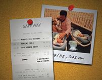 Safeway Rebranding Campaign - Concept for Print