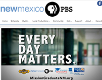 New Mexico PBS Website Redesign