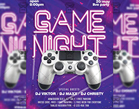 Game Night Flyer - Club A5 Template
