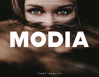 Modia Font Family - Sans Serif (Free Download)