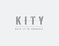 Logo Design / KITY Speakeasy Bar, Phuket