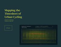 Mapping Urban Cycling - Data Visualization