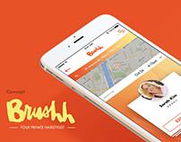 Brushh : Concept app