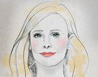 Kristen Bell Illustration