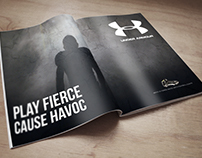 Under Armour Magazine Advertisement